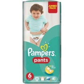 Pampers Pants Extra Large 16+kg Jumbo Pack S6 44ks
