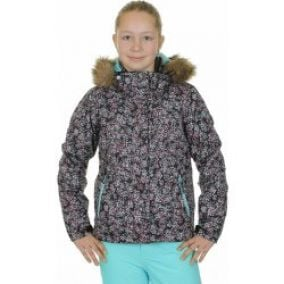 Roxy Jet Ski Girl KVJ7 Flurry Ditsy anthracite