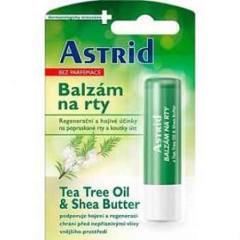 Astrid balzam na pery s Tea Tree Oil & Shea Butter