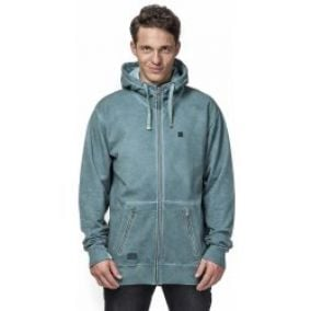 Horsefeathers Jacob Zip Washed mikina Teal