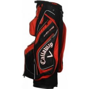 Callaway Chev Org Cart Bag Black/Red