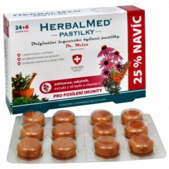 Simply You HerbalMed pastilky Dr. Weiss pre