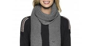 Roxy Šál New Mellow Scarf Cool Grey
