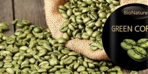 Green Coffee Bean extrakt na chudnutie a