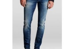 Pánske rifle Jack & Jones / TIM SLIM FIT Blue
