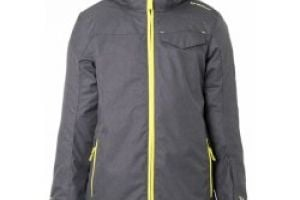 Brunotti Maberto ST4 JR Boys Snowjacket-Grey dark