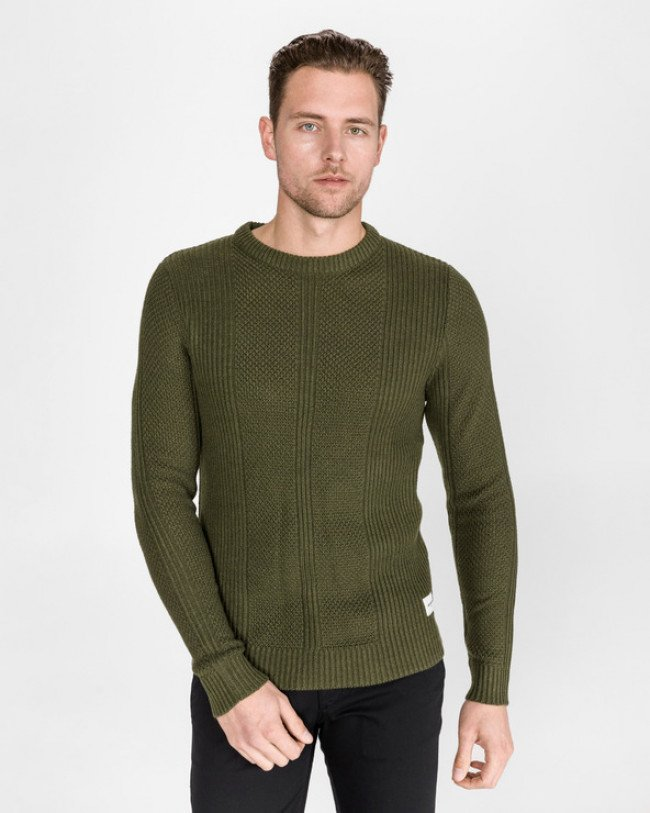 Jack & Jones Harvard Sveter Zelená