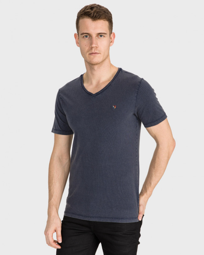 Jack & Jones Carlin Tričko Modrá