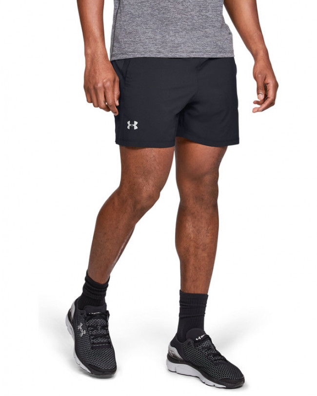 Under Armour Launch SW 5'' Kraťasy Čierna