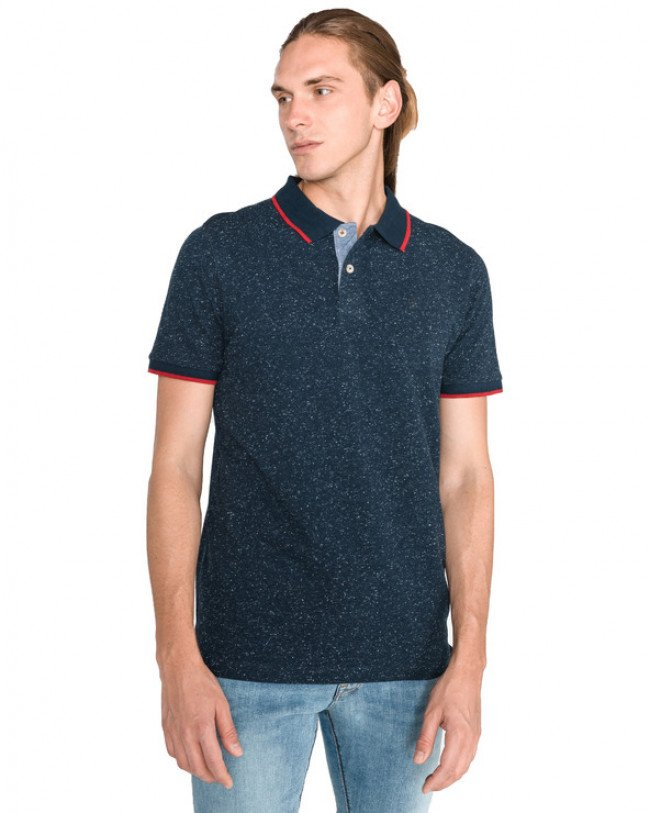 Jack & Jones Ger Polo tričko Modrá