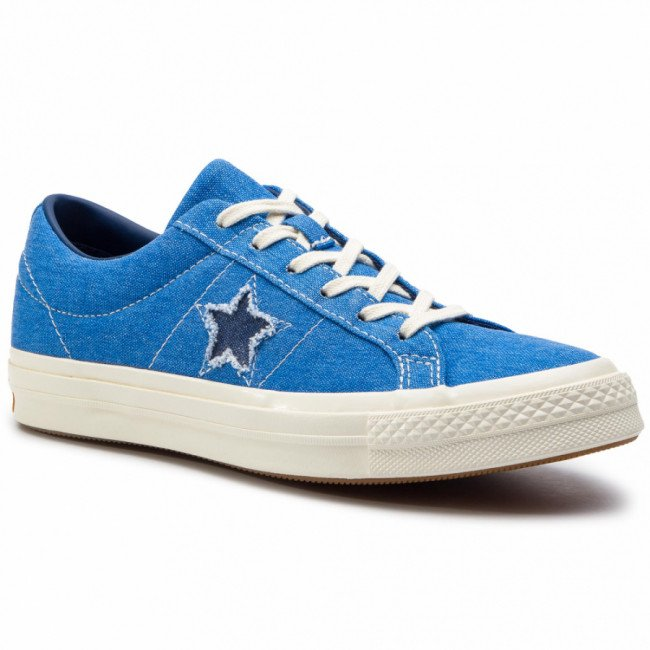 Tenisky CONVERSE - One Star Ox 164359C Totally Blue/Navy/Egret