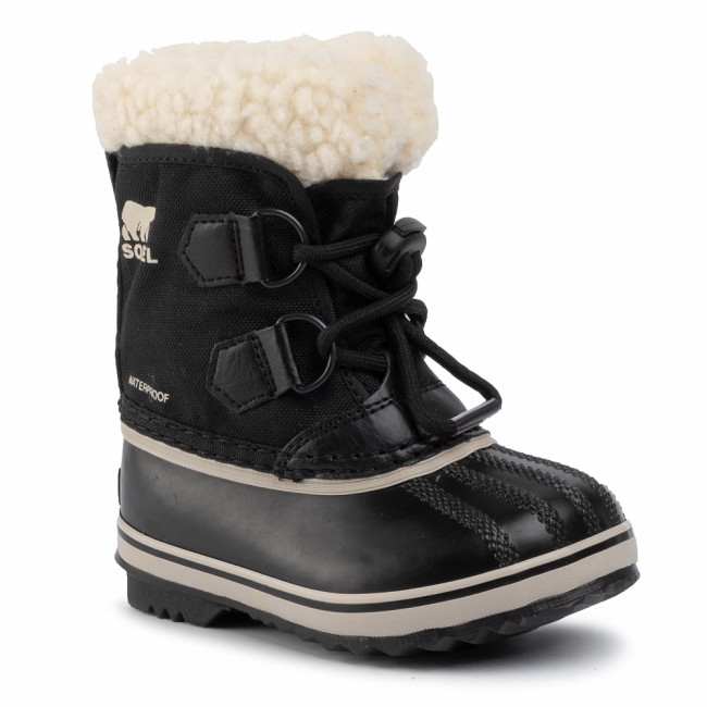 Snehule SOREL - Childrens Yoot Pac Nylon NC1962 Black 010