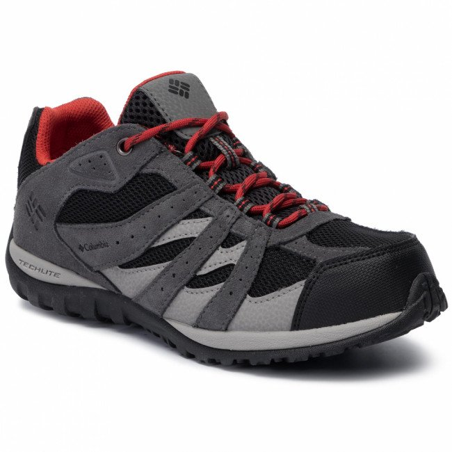 Trekingová obuv COLUMBIA - Youth Redmond Waterproof BY2857 Black/Flame 012