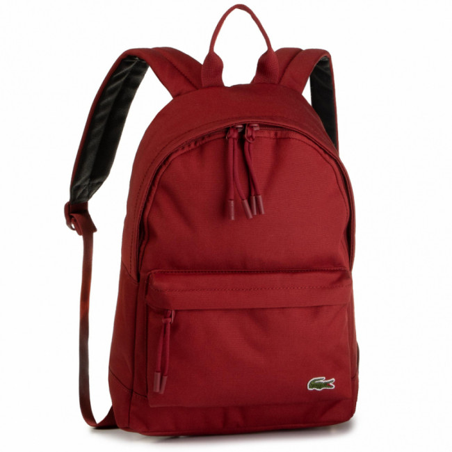 Ruksak LACOSTE - S Backpack NH2860NE  Red Dahlia C62