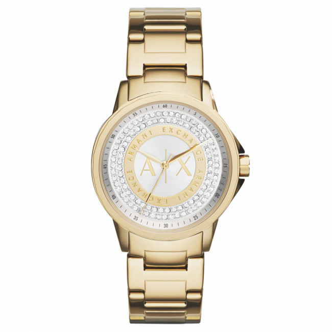 Hodinky ARMANI EXCHANGE - Lady Banks AX4321  Gold/Gold