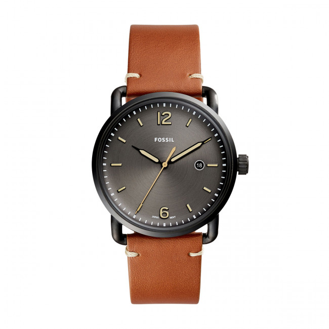 Hodinky FOSSIL - The Commuter 3H Date FS5276  Light Brown/Black