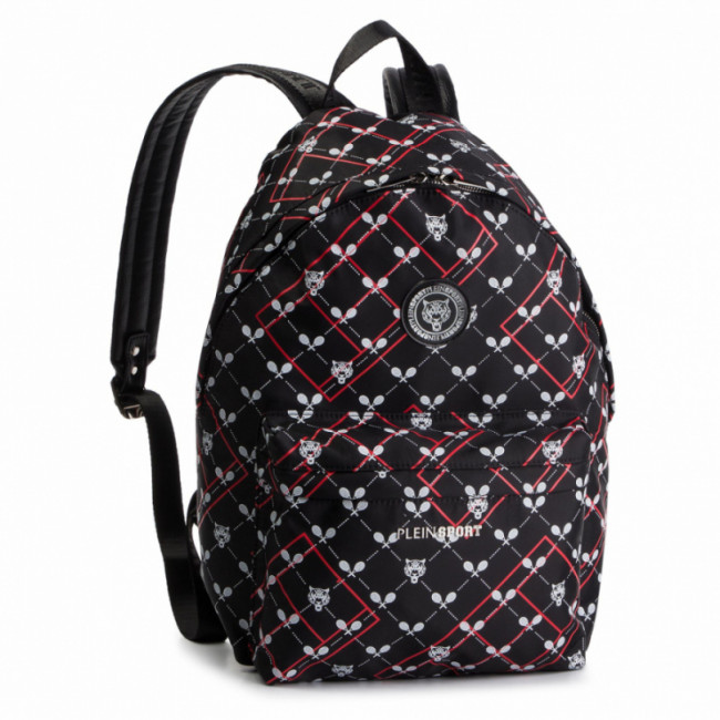 Ruksak PLEIN SPORT - Backpack Original P19A MBA0706 STE003N Black/Red 0213