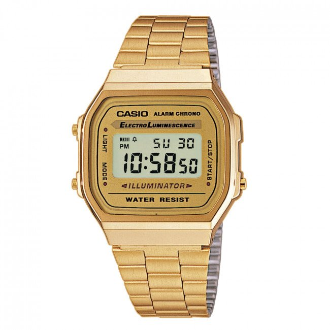 Hodinky CASIO - Vintage A168WG-9EF Gold/Gold