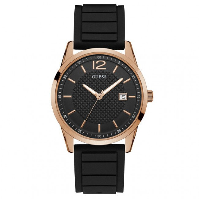 Hodinky GUESS - Perry W0991G7  BLACK/ROSE GOLD TONE