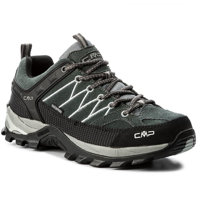 Trekingová obuv CMP - Rigel Low Trekking Shoes Wp 3Q13247 Grey/Mineral Grey 722P