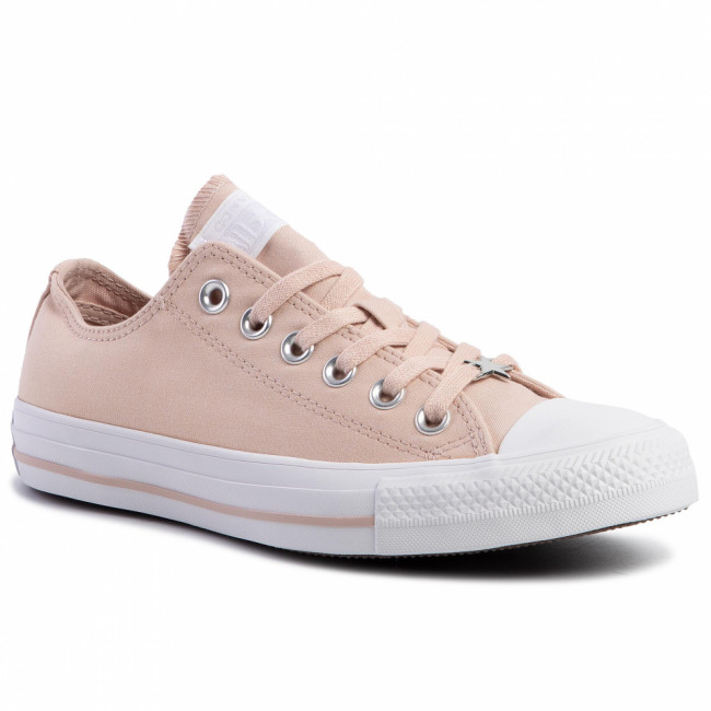 Tramky CONVERSE - Ctas Ox 564421C Particle Beige/Whi