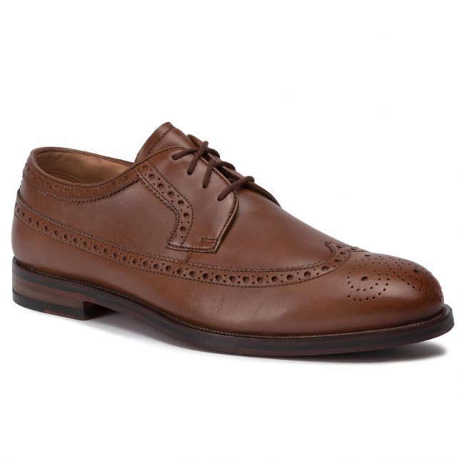 Poltopánky CLARKS - Coling Limit 261420817  British Tan