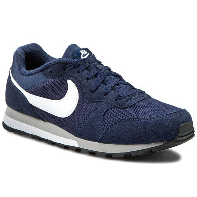 Topánky NIKE - Md Runner 2 749794 410 Midnight Navy/White/Wolf Grey