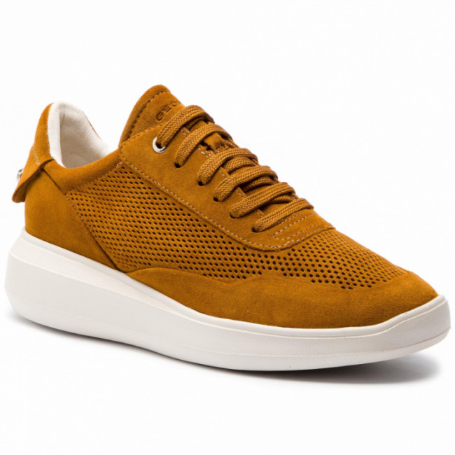 Sneakersy GEOX - D Rubidia A D84APA 00022 C2021 Curry