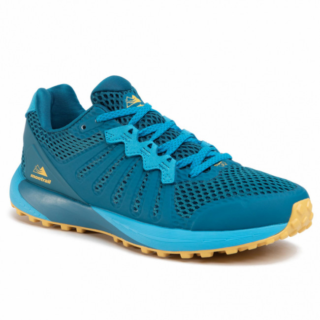 Topánky COLUMBIA - Montrail F.K.T. BM0109 Dark Turquoise/Golden Nugget/Turquoise Sombre/Pepite D'Or 435