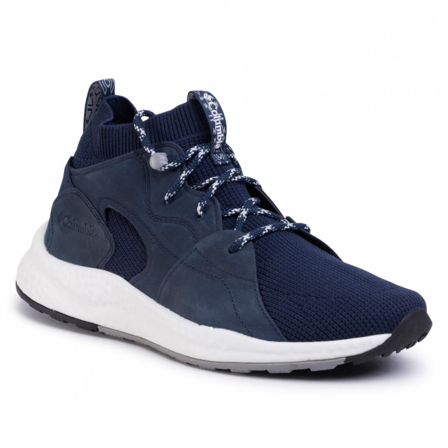 Sneakersy COLUMBIA - Sh/Ft Outdry Mid BM0819 Collegiate Navy/White/Bleu Marine 464