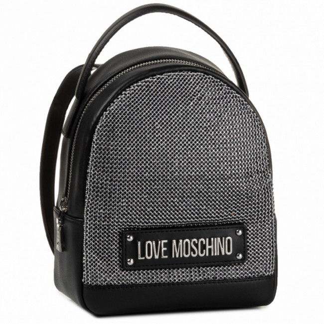 Ruksak LOVE MOSCHINO - JC4052PP1ALH100A Nero/Crystal Nero