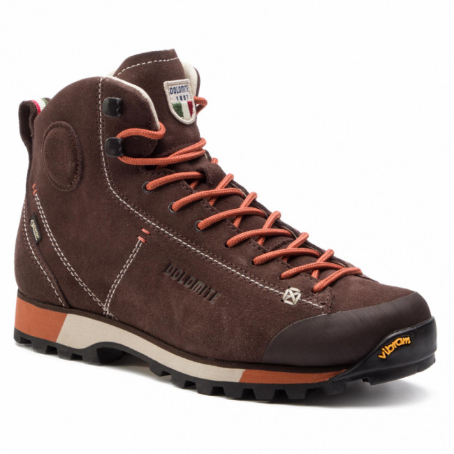 Trekingová obuv DOLOMITE - Cinquantaquattro Hike Gtx GORE-TEX 269482-1137 Dark Brown/Red