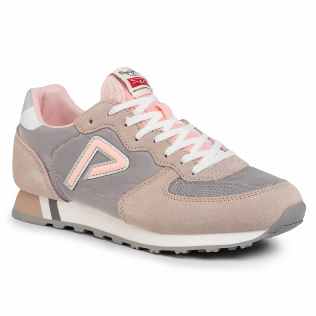Sneakersy PEPE JEANS - Klein Archive Summer PLS31004 Light Pink 315