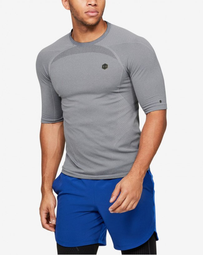 Under Armour RUSH™ Seamless Tričko Šedá