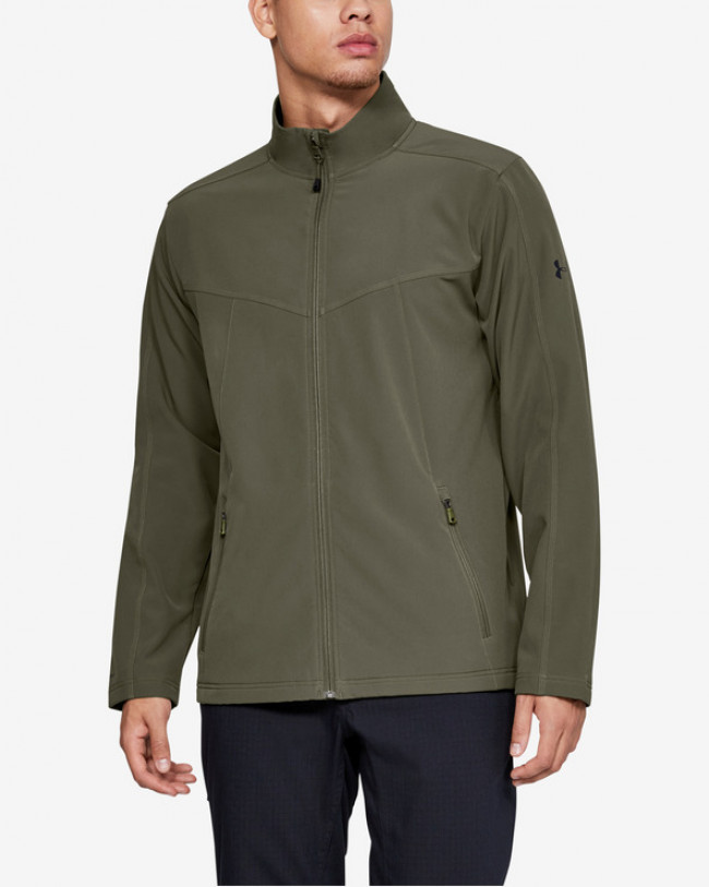 Under Armour Tactical All Season Bunda Zelená