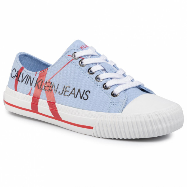 Tramky CALVIN KLEIN JEANS - Demianne B4R0856 Chambray Blue/Racing