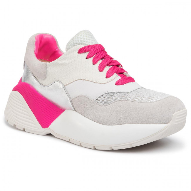 Sneakersy TWINSET - Running 201TCP150 Bic.Ottico/Fuxia Fluo 04831