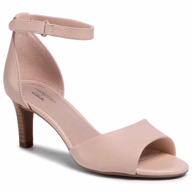 Sandále CLARKS - Alice Greta 261501204 Blush Leather