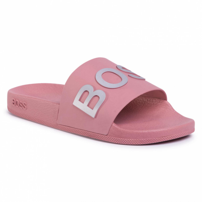 Šľapky BOSS - Bay Slid 50425631 10224216 01 Light/Pastel Pink 682