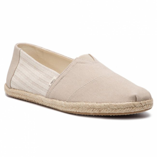 Espadrilky TOMS - Classic 10013560 Oxford Tan Ivy League