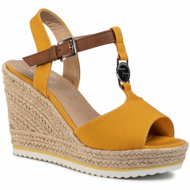 Espadrilky TOM TAILOR - 8090214  Yellow