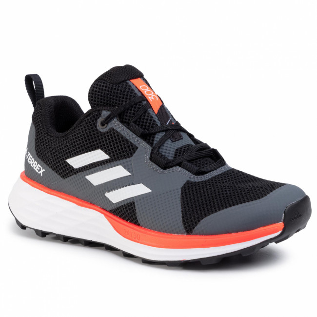 Topánky adidas - Terrex Two EH1836 Cblack/Cwhite/Sored