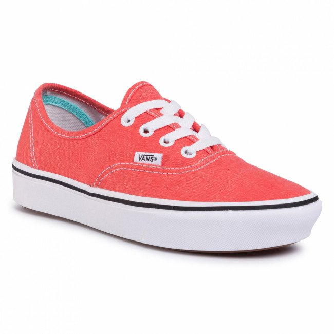 Tenisky VANS - Comfycush Authent VN0A3WM7WWC1 (Washed Canvas) Grenadine