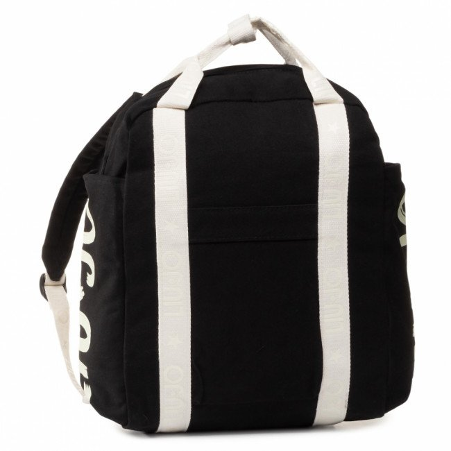 Ruksak LIU JO - Canvas Backpack 3A0001 T0300 Nero 22222