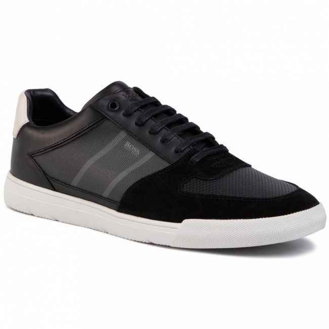 Sneakersy BOSS - Cosmopool 50417937 10214585 01 Black 001