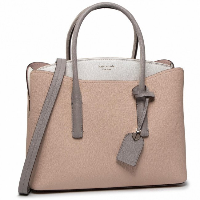 Kabelka KATE SPADE - Margaux Large Satchel PXRUA160 Blush Multi 685