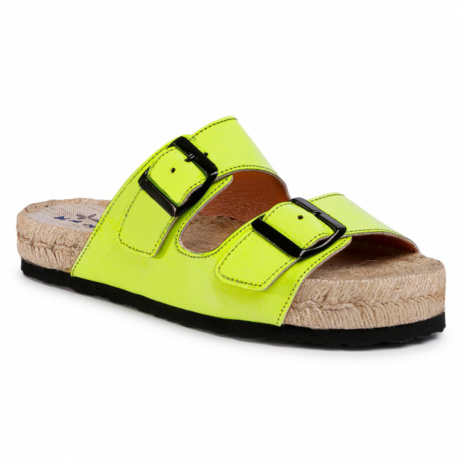 Espadrilky MANEBI - Nordic Sandals F 9.0 R0 Yellow Fluo