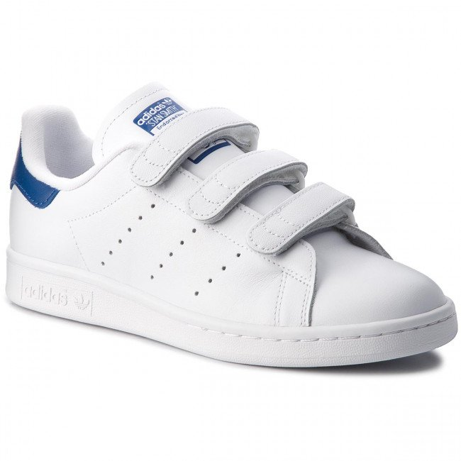 Topánky adidas - Stan Smith Cf S80042  Ftwwht/Ftwwht/Croyal
