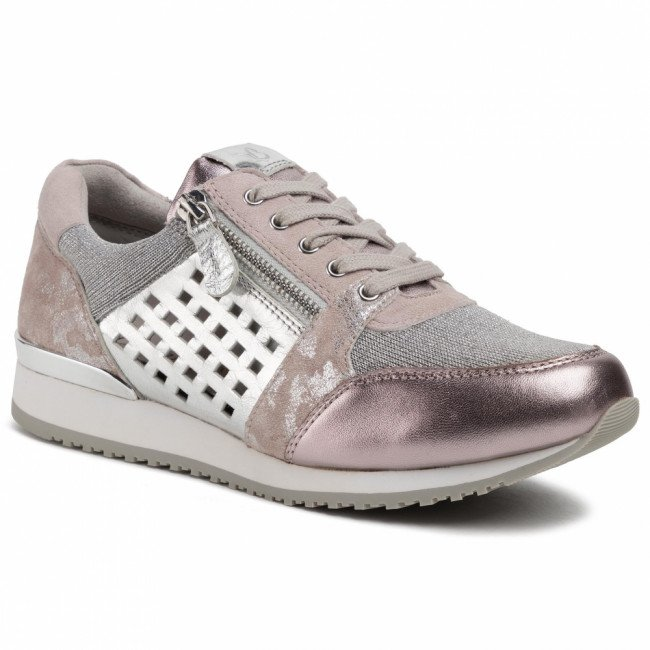 Sneakersy CAPRICE - 9-23503-24 Soft Pink Comb 594