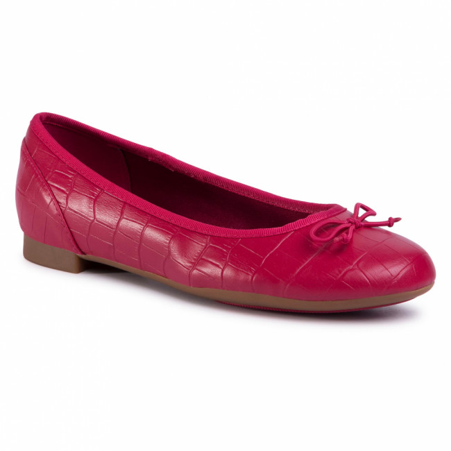 Baleríny CLARKS - Couture Bloom 261502824 Fuchsia